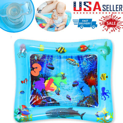 Inflatable Baby Water Mat Novelty Play for Kids Children Infants Tummy Time Mats