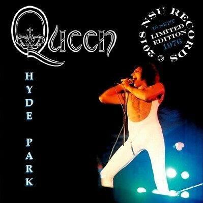 QUEEN Live AT HYDE PARK 1976 September 18th LIMITED ED CD