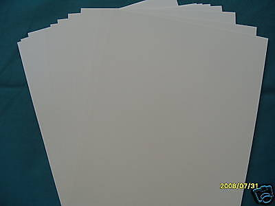 Ivory/Oyster  Mother Of Pearl Look Irridescent  10 Sheets A4 240Gsm Card