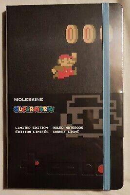 Moleskine Super Mario Ruled Notebook Limited Edition 240 Pages