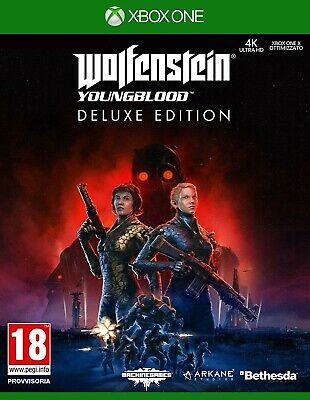 Wolfenstein Youngblood Deluxe Edition Xbox One [NO CD/ MULTILANGUAGE]