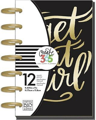 "Create 365 Undated Mini Happy Planner ""Get It Girl"" Arc Bound"