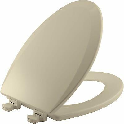Tremendous Deluxe Plastic Square Slow Close Bone Elongated Toilet Seat Pabps2019 Chair Design Images Pabps2019Com