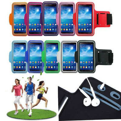 Sports Running Jogging Gym Armband Touch Case Exercise Bag For Apple iPhone LG