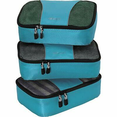 Small Classic Packing Cubes for Travel - Organizers - 3pc Set