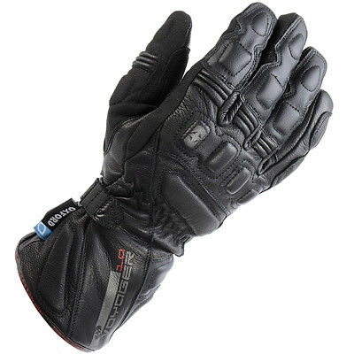 Oxford Voyager Leather Gloves - Black *RRP £59.99 Now £39.99*