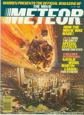 Meteor Official Movie Magazine (USA, 1979)