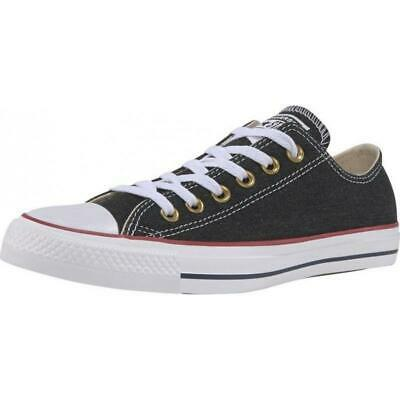 Converse »Chuck Taylor All Star Ox Jeans Washed Out« Sneaker Schwarz Gr 38 Neu