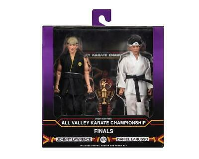 """Karate Kid 1984 Tournament 2 Pack 8"""" Clothed Action Figures NECA"""