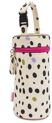 Pink Lining BOTTLE HOLDER DALMATIAN FEVER Baby Feeding Travel BN