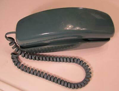 WESTERN ELECTRIC TRIMLINE Vintage BLUE  DESK  PHONE Landline telephone