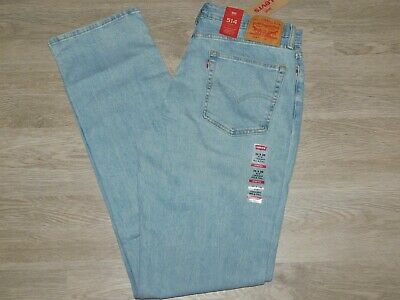 LEVIS 514 Jeans Regular Fit Straight Stretch Big and Tall Blue Stone Choose Size