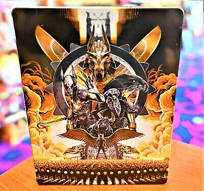 Gods of Egypt STEEL BOOK 3D + BLU-RAY + DVD EXCELLENT CONDITION!!!!!