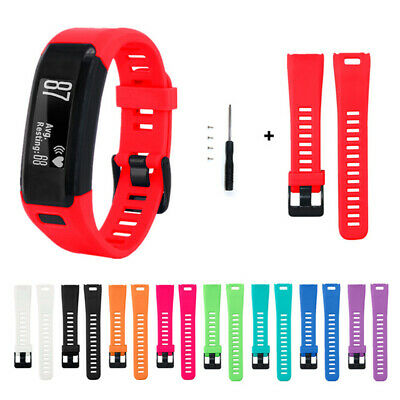 with tools Classic Strap Watch Band Silicone Bracelet For Garmin Vivosmart HR
