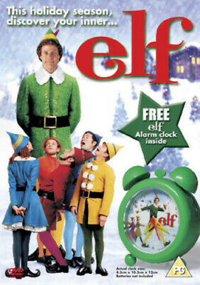 Elf DVD (2004) Will Ferrell, Favreau (DIR) cert PG Expertly Refurbished Product
