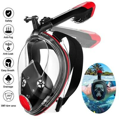 MOVTOTOP 180°View Snorkel Mask Foldable Full Face Anti-Fog Anti-Leak Panoramic