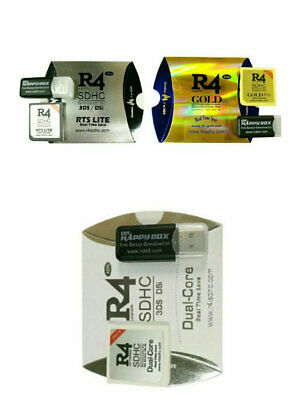 R4 GOLD PRO SDHC for Nintendo DS/3DS/2DS/ Revolution Cartridge With
