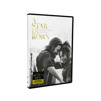 A Star is Born DVD 2018 Brand New Bradley Cooper Lady Gaga Movie Sealed