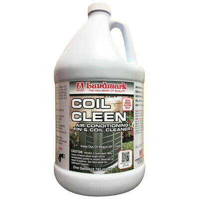 Lundmark  Coil Cleen  Air Conditioner Fin Cleaner  1 gal. Liquid