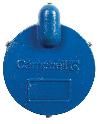 Campbell  Cast Iron  Well Cap  6-1/4 in.  x 8 in. L