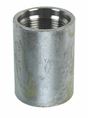 Campbell  Galvanized Steel  Drive Coupling  1-1/4 in.  x 4 in. L