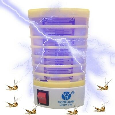 Electric Mosquito Killer Bug Zapper Catcher Pest Insect Trap Lamp Light xdfc