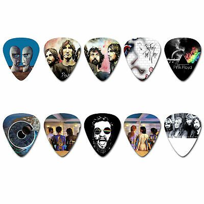 GUITAR PICKS Set of 10 pcs Thickness 0.46-1.5mm Double Sided 54#