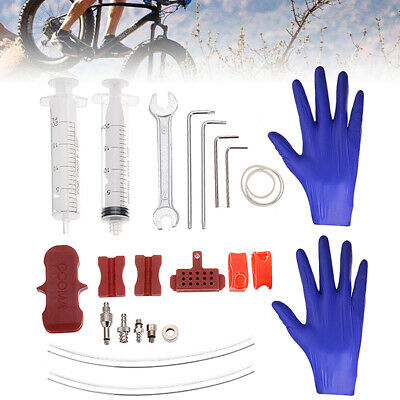 Bicycle Bike Hydraulic Disc Brake Bleed Tool Kit For EZ Shimano Tektro Magura ZH