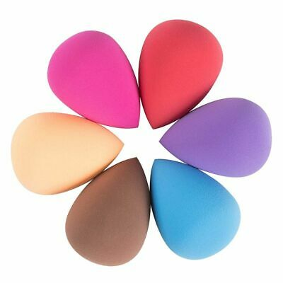 6 x Beauty Makeup Blending Sponge Flawless Foundation Powder Blender Smooth Puff