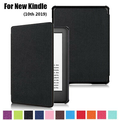 """Ultra Slim Leather Smart Case e-Reader Cover For 6"""" All-New Kindle 10th Gen 2019"""