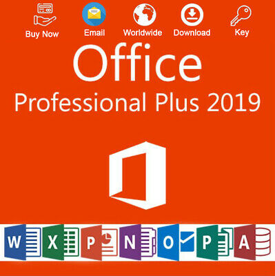 Office 2019 Pro Plus 32-64 Bit License Activation For 1PC Genuine