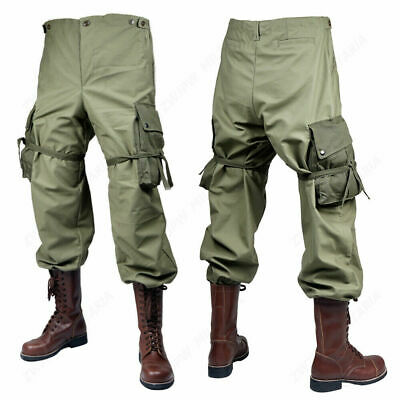 Ww2 Us Military Army Green M43 Pants Trousers 36R