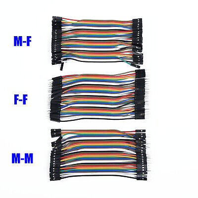 Cable Jumper Breadboard 11cm Lead for Arduino M-F Dupont 2018 Practical Useful