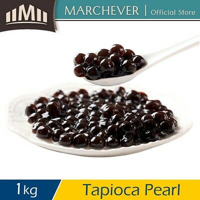 [Halal] Royal Tea Black Tapioca Pearl Bubble Jelly Topping Coolblog Pearl - 1kg