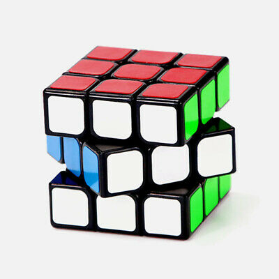 Ultra-Smooth ABS Rubik's Cube Professional Speed Magic Cube Puzzle 3x3x3 w/Stand