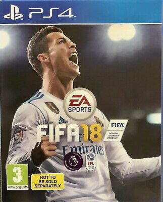 Fifa 18 For Sony PlayStation 4 PS4 Supplied In Original Case (Free UK Post)