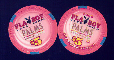 Playboy Club At The Palms $5 Grand Opening Casino Chip  (C912) 2006