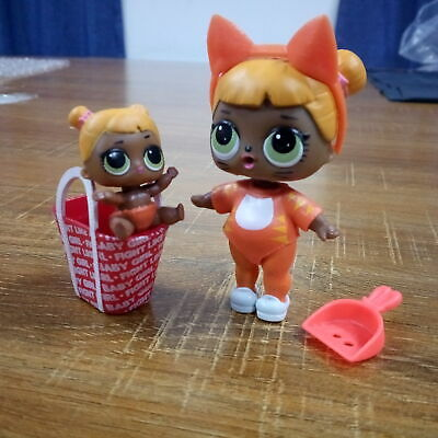 Lot 2 LOL Surprise Big Sister Baby Cat Series 1 Doll & LIL SISTER Original Doll