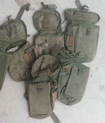 Ammo Pouch Large - Australian Army Original Issue Vgc 1988/89 Made