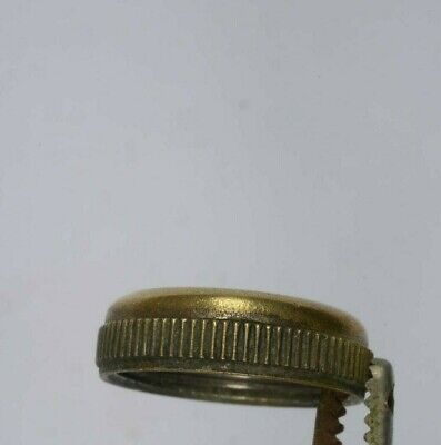 Brass Ring For Porcelain/China Button. Bathroom.
