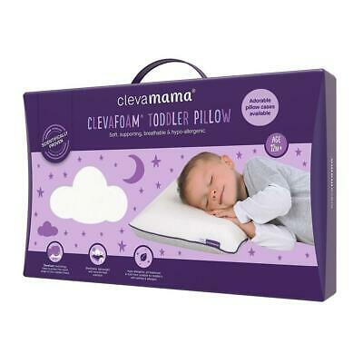 ClevaMama ClevaFoam Memory Foam Toddler Pillow - Suitable From 12 Months