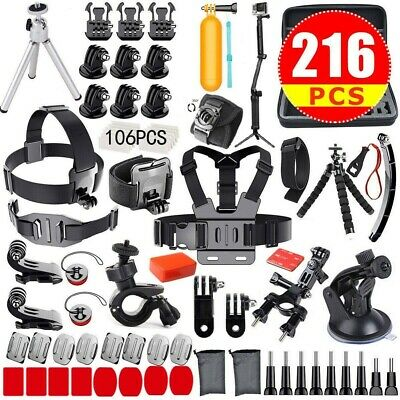 Camera Accessories For GoPro Hero7 6 5 4 Action Sports Video Cam Kit GOPRO HERO
