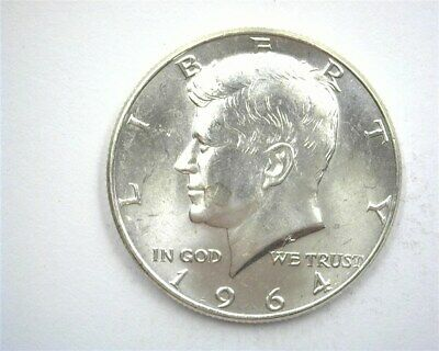 1964 Kennedy Silver 50 Cents Gem++ Uncirculated Prooflike