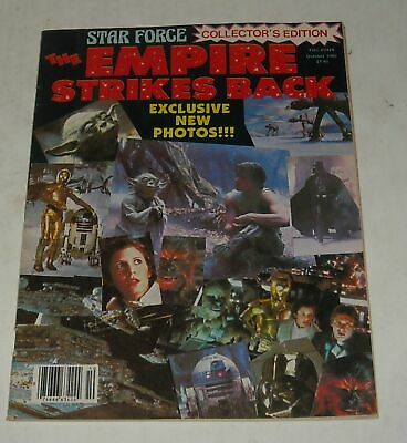 October 1980 STAR FORCE MAGAZINE STAR WARS EMPIRE STRIKES BACK COLLECTOR's EDIT