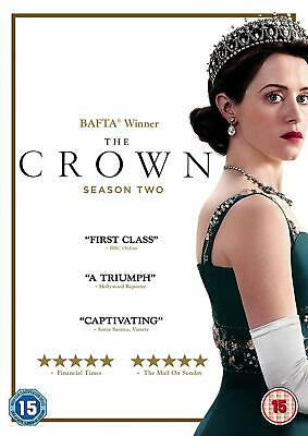 The Crown - The Complete Series 2 (4 Disc DVD Set) Season Two Claire Foy