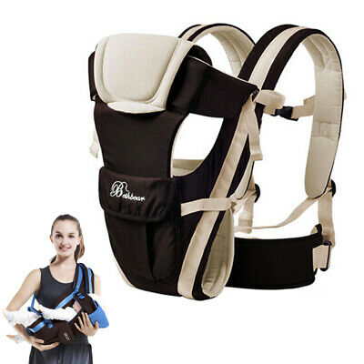 New Born Adjustable Baby Carrier Sling Wrap Backpack New Breathable Kids Infant