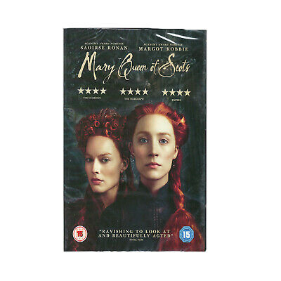Mary Queen of Scots [DVD] Brand new sealed Region 2