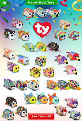 McDonalds 2019 TY Teenie Teeny TYs Happy Meal Toy New with Tags