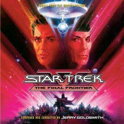 Star Trek V Final Frontier Soundtrack CD Jerry Goldsmith 2CD Set 19CDS167