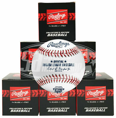 (6) 2019 All Star Futures Rawlings MLB Game Baseball Cleveland Boxed - 1/2 Dozen